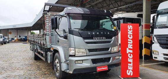 Iveco Vertis 130v19 4x2 2014 Cabina Semi Leito Selectrucks