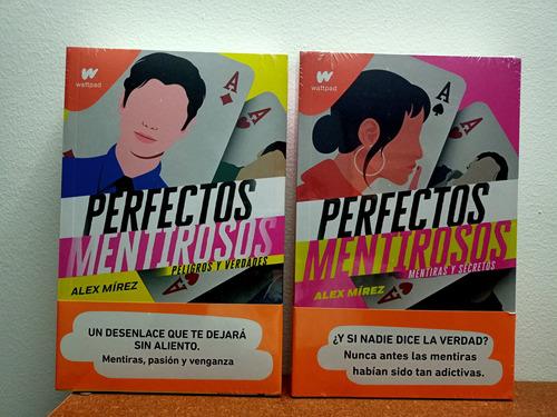 Imagen 1 de 2 de Perfectos Mentirosos 1 Y 2 Originales Más Libro Sorpresa Adi