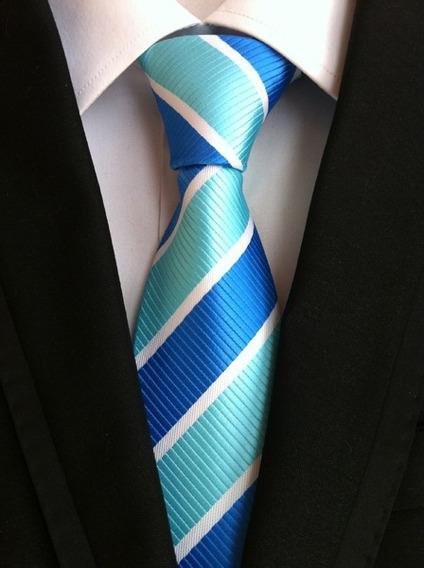 Gravata Azul Marinho Vários Modelos