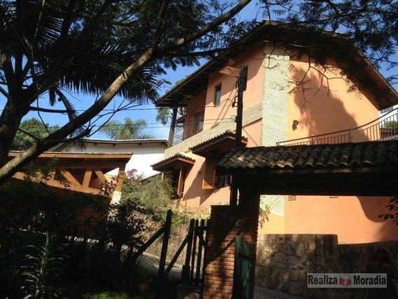 Sobrado 04 Dormitórios E 02 Suítes - Granja Viana - Ca1597