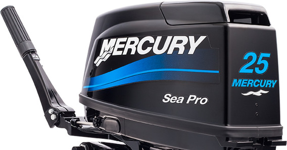Motor Fuera De Borda Mercury 25 Hp 2t Sea Pro