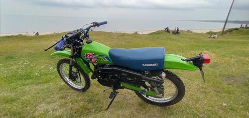 Kawasaki Ke 100 Enduro