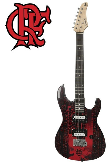 Guitarra Stratocaster Waldman Flamengo Preço Black Friday