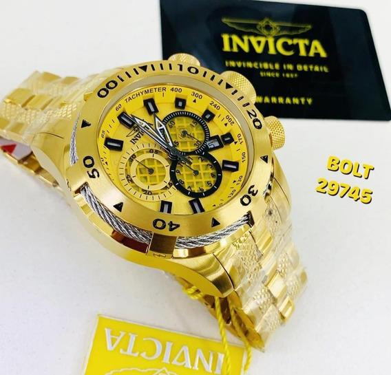 Relógio Invicta Bolt Zeus 29745 - Original - Frete Grátis