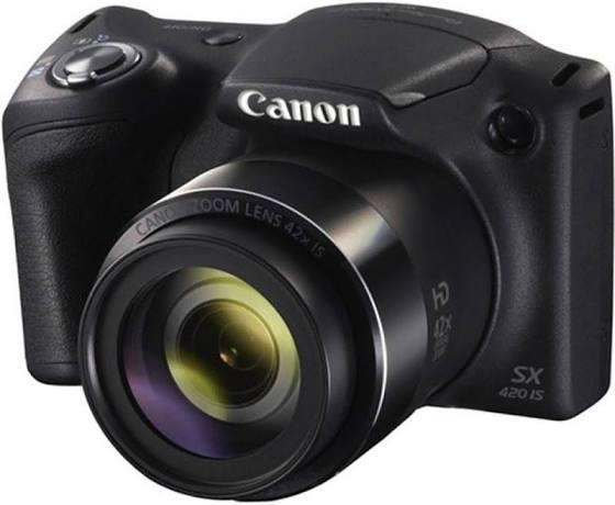 Câmera Digital Canon Powershot Sx400is Preta