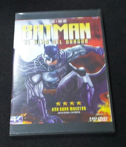 Imagen 1 de 1 de Batman Alma Del Dragón - Película Animada En Dvd 2021
