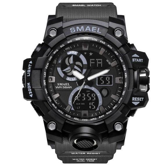 Relógio Esportivo Masculino Smael 1545c