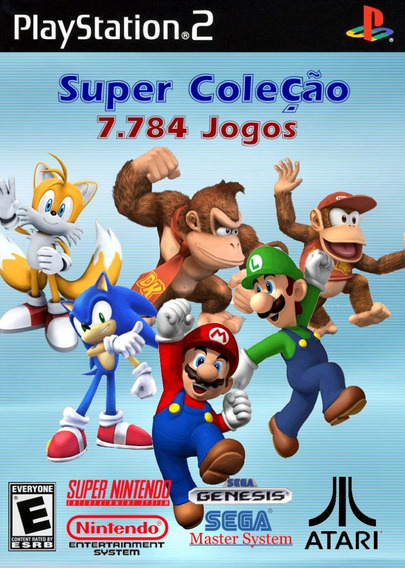 Patch Ps2 - Super Coleção 7784 Games (super Nintendo E Mais)