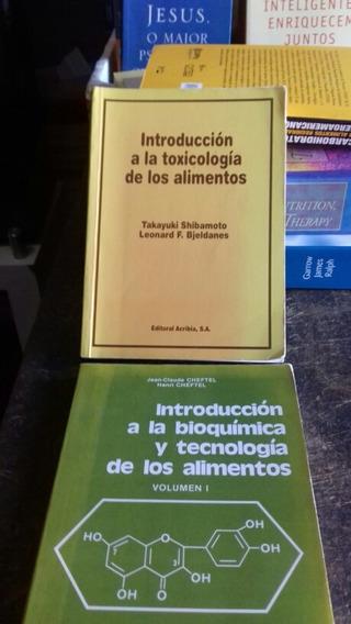 Tecnologia Dos Alimentos(toxicologia/bioquimica)em Espanhol