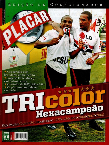 Placar Nº 1326 - Tricolor Hexacampeão