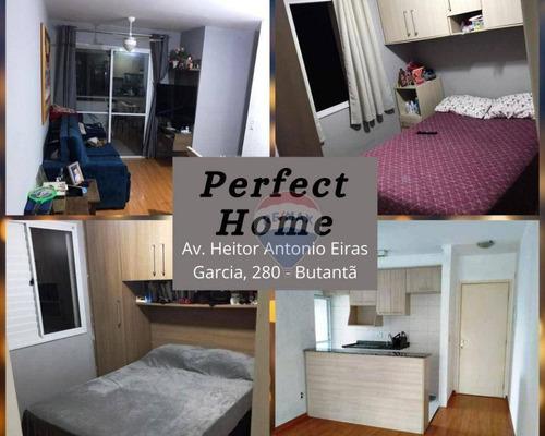 Imagem 1 de 13 de Apartamento No Condomínio Perfect Home - Butantã - Ap1003