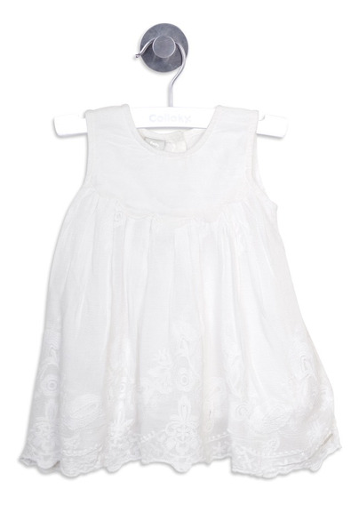 Vestido Ropero Off White Girl Colloky