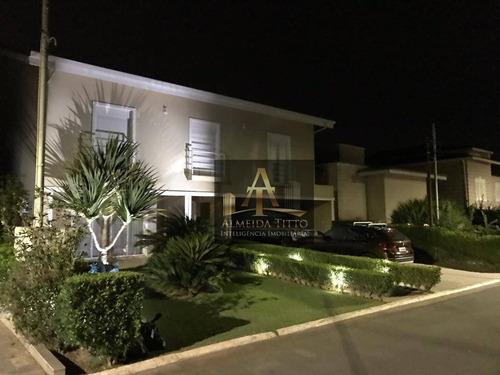 Excelente Casa Á Venda  No Residencial 10 Em Alphaville - Confira ! - Ca2101