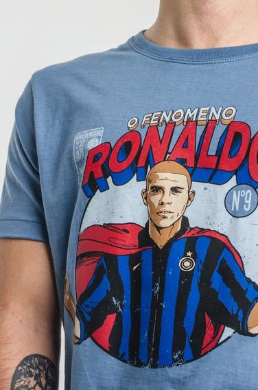 Remera Algodon - Wing - Ronaldo Nazario - El Super Fenomeno