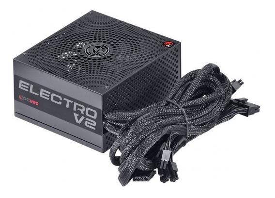 Fonte Atx Gamer 550w 80 Plus Bronze Pcyes Electro V2 Series