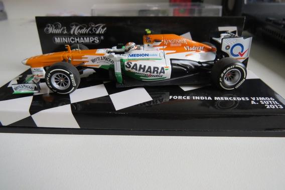 1:43 Miniatura Force India Vjm06 2013 Sutil Formula 1 Senna