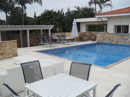 Casa Com 6 Dormitórios À Venda, 1350 M² Por R$ 5.500.000,00 - Condomínio Village Sans Souci - Valinhos/sp - Ca0790