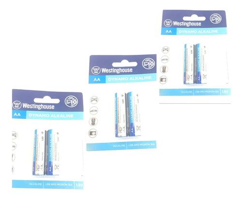 Pila Bateria Aa Pack 3 2unidades