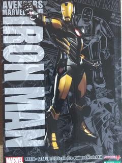 Kotobukiya Artfx Iron Man Marvel Now! Black X Gold 1/10