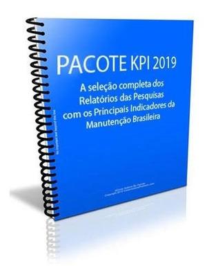 Relatório De Indicadores - 16 Pesquisas Da Manutenção Brasil
