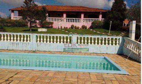 Imagem 1 de 4 de Chácara Com 4 Dormitórios À Venda, 5000 M² Por R$ 986.000,00 - Veraneio Irajá - Jacareí/sp - Ch0050