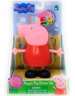 Figura De Peppa Pig Dress Up 13cms