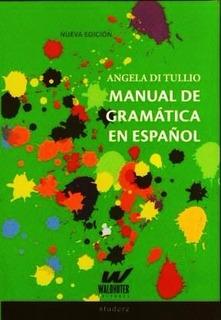 Manual De Gramatica En Español - Angela Di Tullio - Libro