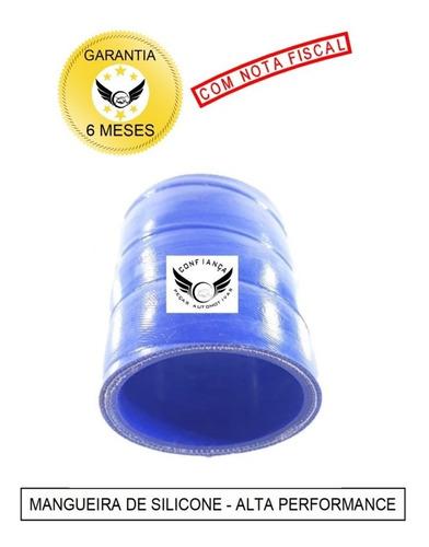 Mangueira Mangote Silicone 3,5 X 100mm Pressurização Azul