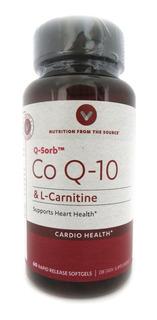 Suplemento Coenzima Co Q10 100mg 60 Cápsulas Q-sorb
