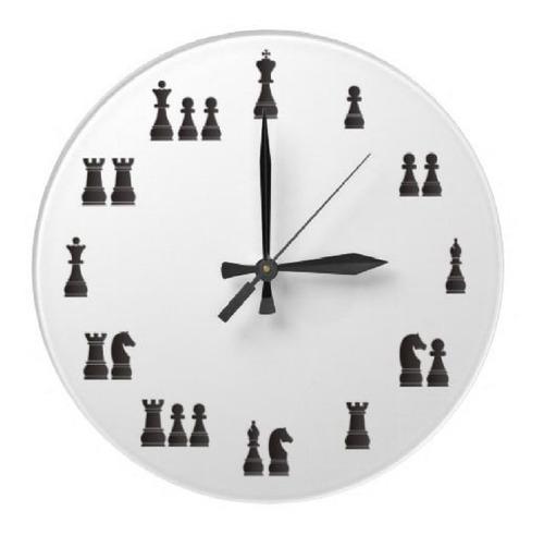 Reloj Pared 30cm Personalizado Sámano Uruguay