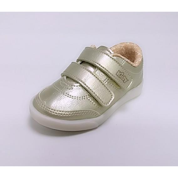 Tênis Infantil Kidy Love Baby Velcro