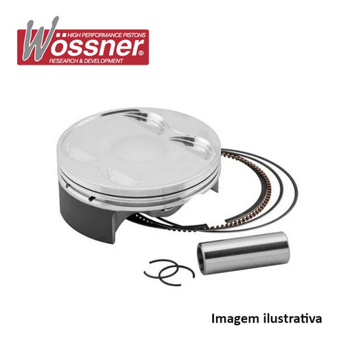 Pistao Wossner Kawasaki Kx250f 15-16 ( 76.97mm ) 8921dc