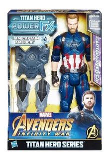 Avengers Titan Hero Series Capitán América E06075730