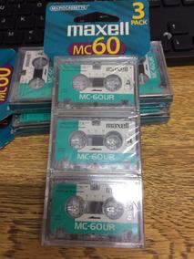 Fita Microcassete K7 Maxell C/3 Unid