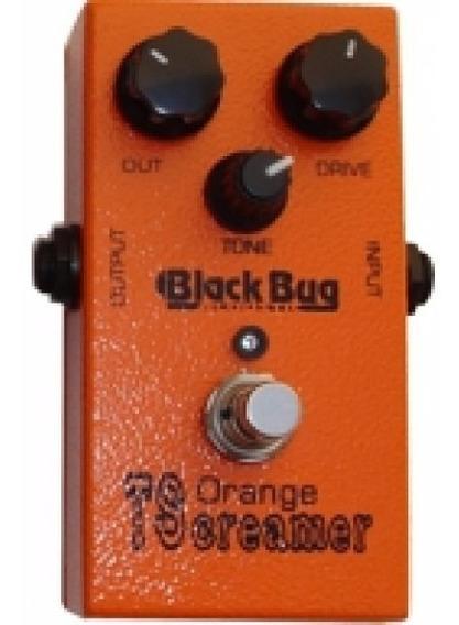 Black Bug Pedal Guitarra Distorção Orange Tscreamer