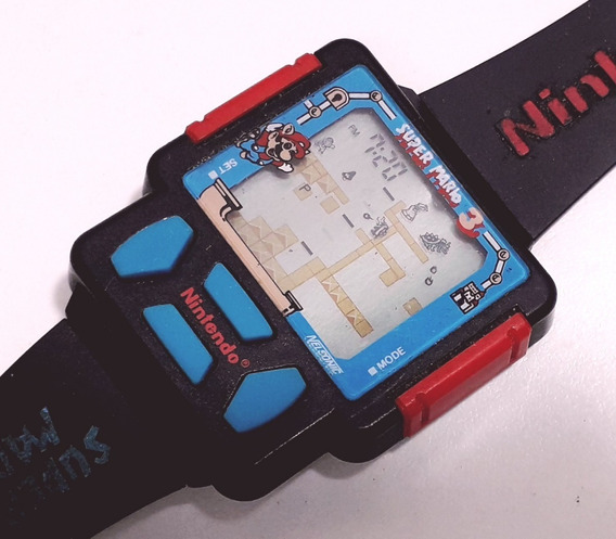 Relógio Game Nintendo Super Mário 3 Aproveitamento De Peças