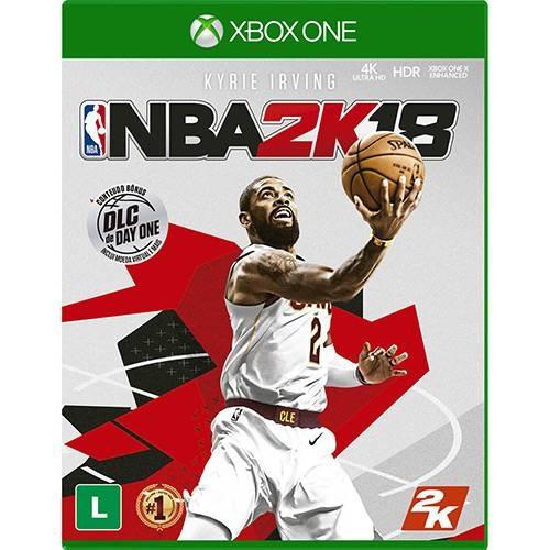 Nba 2k18 - Xbox One Mídia Física Lacrado