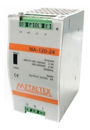 Fonte Chaveada 75w 110/220vca Na-75-24 - Metaltex