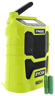 Ryobi P742 One Radio Amfm Compacta Inalambrica De Litioion 1
