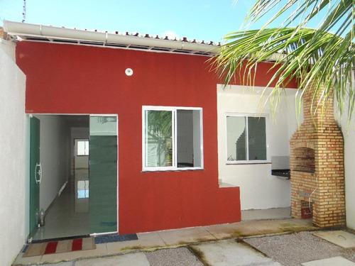 Imagem 1 de 18 de Casa Com 3 Dormitórios À Venda, 100 M² Por R$ 240.000,00 - Coité - Eusébio/ce - Ca1143