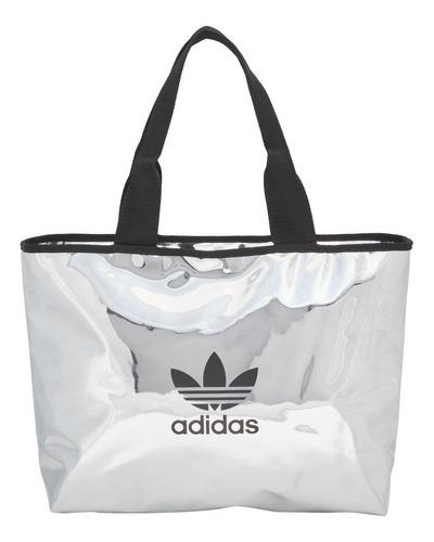 Bolso adidas Originals Shopper Pla/neg De Mujer