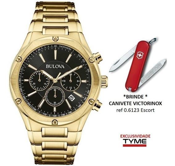 Relógio Bulova Masculino Wb22408u / 97b161 + Brinde C/ Nf