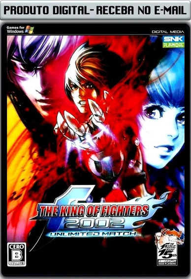The King Of Fighters 2002 Unlimited - Pc - Envio Digital