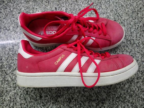 Zapatillas adidas Originals Campus Rojas 5,5 Us/ 4uk Mujer