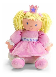 Gund Baby My First Birthday Doll With Sound Descontinuado Po