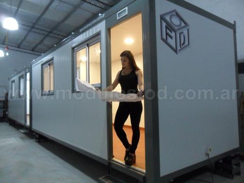 Módulos Habitables - Oficina Móvil Con Baño - Cap. Federal