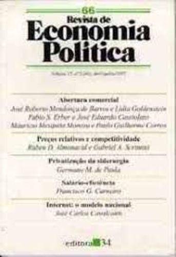 Revista De Economia Política - Volume 28 - Nº 1