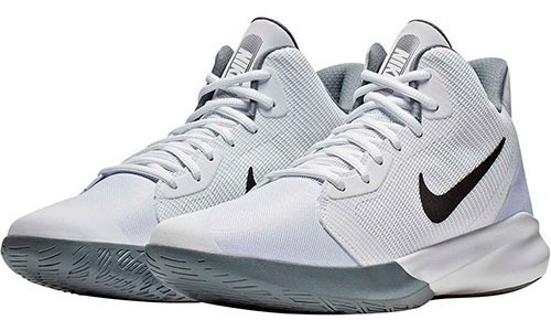 Tenis Nike Precision Ill Blanco Tallas De #25 A #28 Hombre