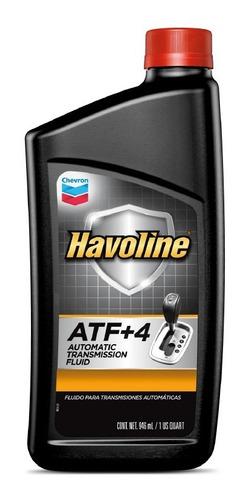 Imagen 1 de 7 de Aceite Transmision Automatica Havoline Atf + 4 Chevron 1 Lt