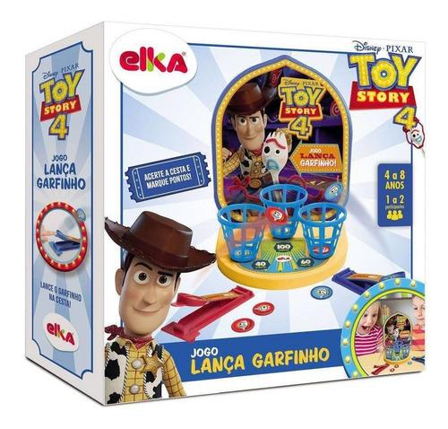 Jogo Lança Garfinho Toy Story 4  Elka
